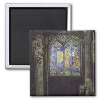 The Stained Glass Window, 1904 Magnet