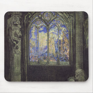 The Stained Glass Window, 1904 Mouse Mat