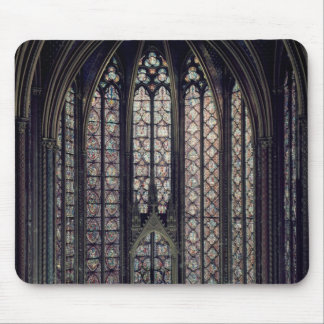 The stained glass window mouse mat