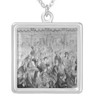 The Stalls, Covent Garden Opera Silver Plated Necklace