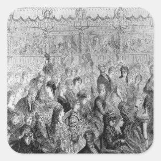 The Stalls, Covent Garden Opera Square Sticker