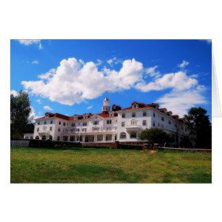 The Stanley Hotel, Estes Park, Colorado Greeting Card