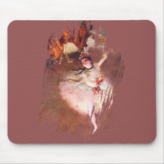 The Star (Dancer on the Stage) by Edgar Degas Mouse Mat
