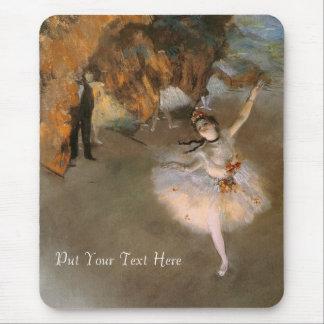 The Star Edgar Degas Mouse Pads