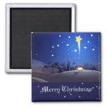 The Star of Bethlehem. Christmas Gift Magnet