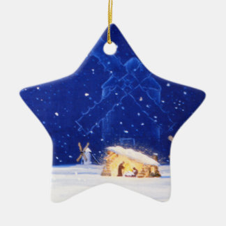 The Star of Bethlehem & DON QUIXOTE Ceramic Star Decoration