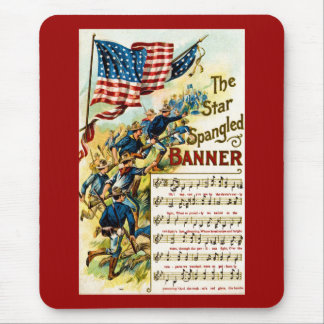 The Star Spangled Banner 1908 Mousepads