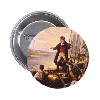 The Star Spangled Banner by Percy Moran 6 Cm Round Badge