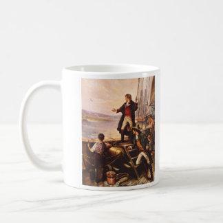 The Star Spangled Banner by Percy Moran Basic White Mug