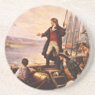 The Star Spangled Banner by Percy Moran Beverage Coaster