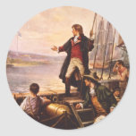 The Star Spangled Banner by Percy Moran Round Sticker