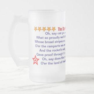 The Star Spangled Banner mug