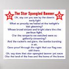 The Star Spangled Banner poster