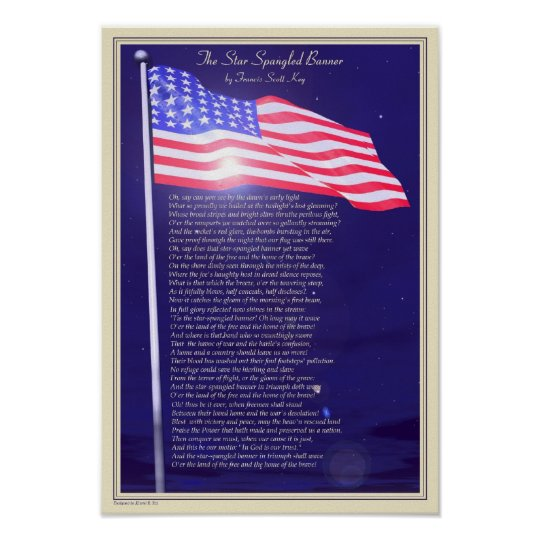 The Star-spangled Banner Poster