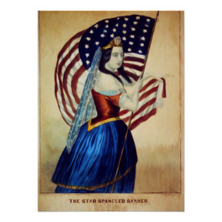 The Star Spangled Banner Poster Paper (Matte)