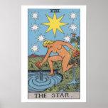 The Star Tarot Card Poster