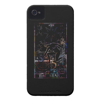 The Star Tarot Party Black iPhone 4 Case-Mate Case