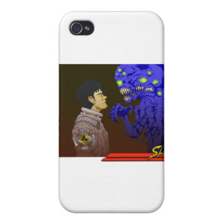 The Stare Off iPhone 4 Case