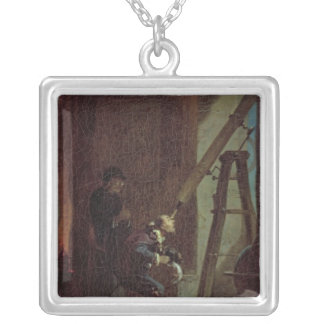 The Stargazer, c.1863 Silver Plated Necklace