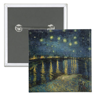 The Starry Night 1888 Button
