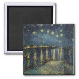 The Starry Night 1888 Fridge Magnets