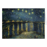 The Starry Night, 1888 Greeting Card