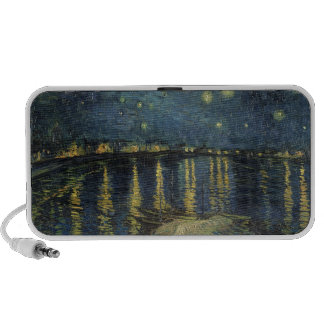 The Starry Night, 1888 Notebook Speakers