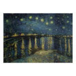 The Starry Night, 1888 Poster