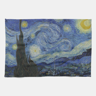 The Starry Night American MoJo Kitchen Towel