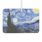 The Starry Night by Van Gogh Car Air Freshener