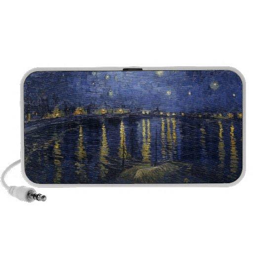 The Starry Night Notebook Speaker