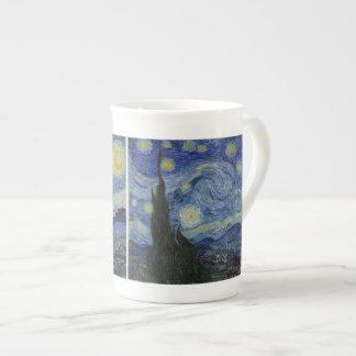 The Starry Night - Van Gogh (1888) Bone China Mug