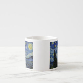 The Starry Night - Van Gogh (1888) Espresso Mug