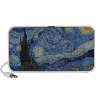 The Starry Night - Van Gogh 1888 Mp3 Speakers