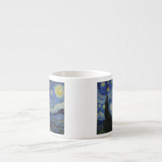The Starry Night - Van Gogh (1888) Espresso Cup