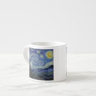 The Starry Night - Van Gogh 1888 Espresso Cup