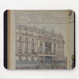 The start of the Paris-Brest bicycle race Mouse Pad