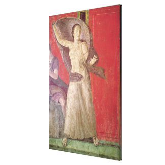 The Startled Woman, North Wall Canvas Print