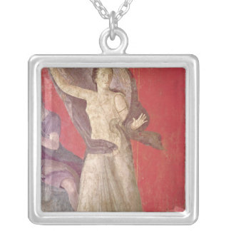 The Startled Woman, North Wall Silver Plated Necklace