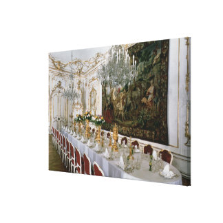 The State Banqueting Hall designed by Nikolaus Stretched Canvas Prints