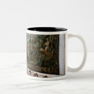 The State Banqueting Hall designed by Nikolaus Two-Tone Coffee Mug