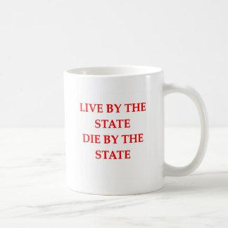 the state classic white coffee mug
