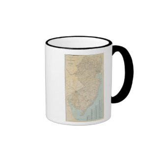 The State of New Jersey, 1877 Ringer Mug