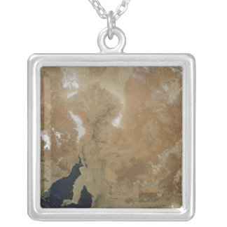 The state of South Australia Silver Plated Necklace
