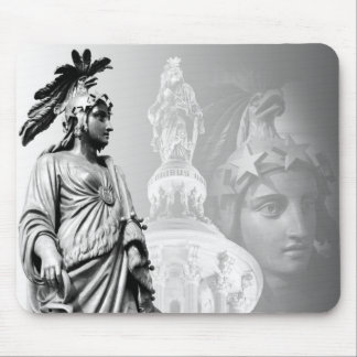 The Statue of Freedom, US Capitol Mouse Pad