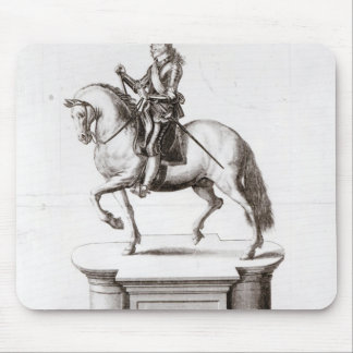 The statue of King Charles at Charing Cross Mouse Mat