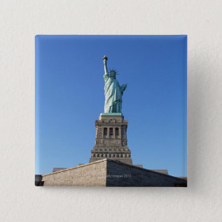 The Statue of Liberty 15 Cm Square Badge