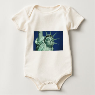 The Statue Of Liberty At New York City Baby Bodysuit