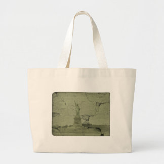 The statue of liberty canvas bag