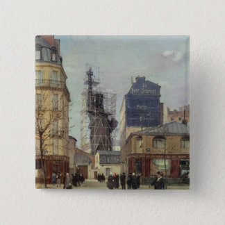 The Statue of Liberty, by Bartholdi 15 Cm Square Badge